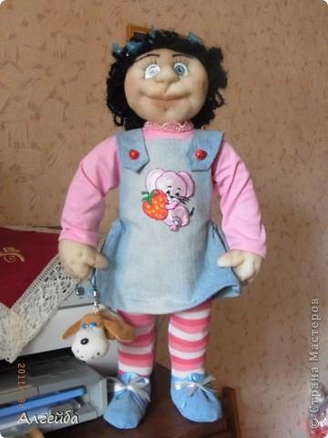 Галчонок-каркасная кукла фото 9