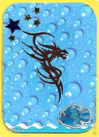 Вас приветствуют черные водяные драконы 2012... Вытынанки. фото 7