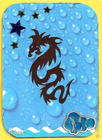 Вас приветствуют черные водяные драконы 2012... Вытынанки. фото 8