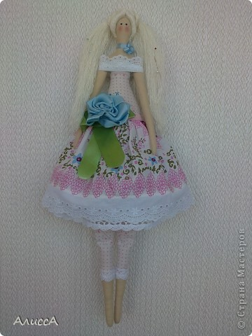 Цветочный ангел Виоллетта фото 2