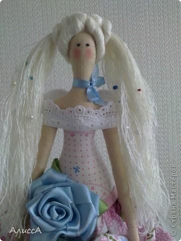 Цветочный ангел Виоллетта фото 4