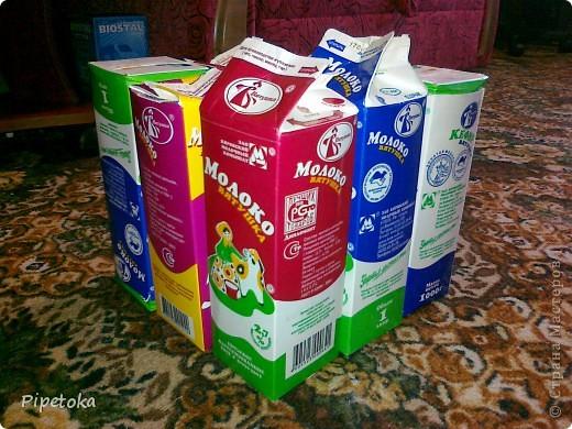Берем пакеты из под молока фото 1