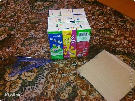 Берем пакеты из под молока фото 3