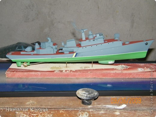 """Научно-исследовательское судно """"Академик С. Вавилов"""". Длина модели 50см фото 6"""