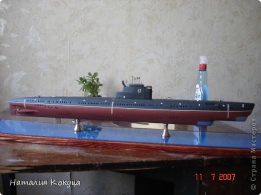 """Научно-исследовательское судно """"Академик С. Вавилов"""". Длина модели 50см фото 3"""