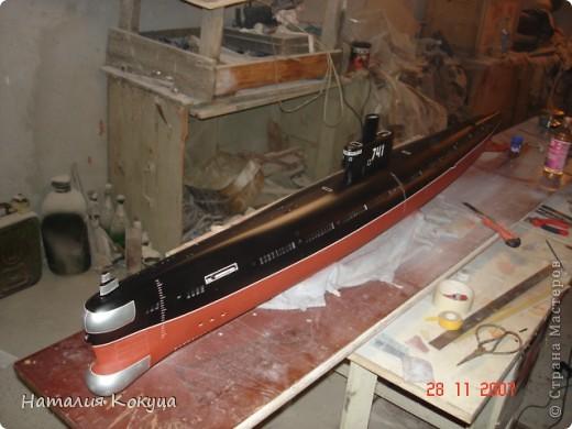 """Научно-исследовательское судно """"Академик С. Вавилов"""". Длина модели 50см фото 4"""