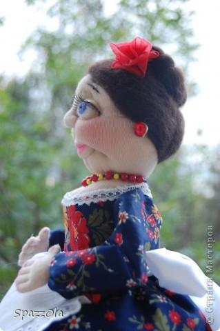 вот такая дама на чайник получилась фото 7