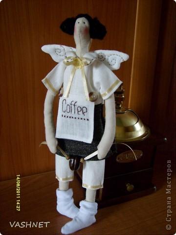 Это Ленусь-кофейная феечка. фото 1