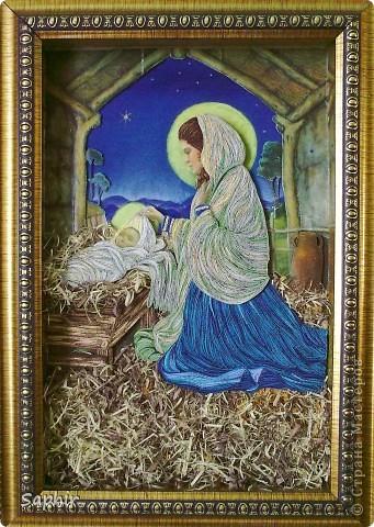 Картина создана по иллюстрации Ruth Sanderson. Хотела придержать её до Рождества, но не удержалась.  фото 2