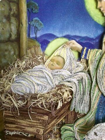 Картина создана по иллюстрации Ruth Sanderson. Хотела придержать её до Рождества, но не удержалась.  фото 8