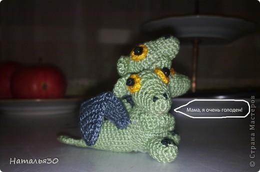 Плод любви Горыныча и неизвестной заморской драконихи, брошеный родителями и очень голодный. фото 3