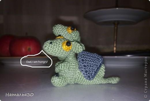 Плод любви Горыныча и неизвестной заморской драконихи, брошеный родителями и очень голодный. фото 4