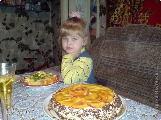 Простой торт для папы.