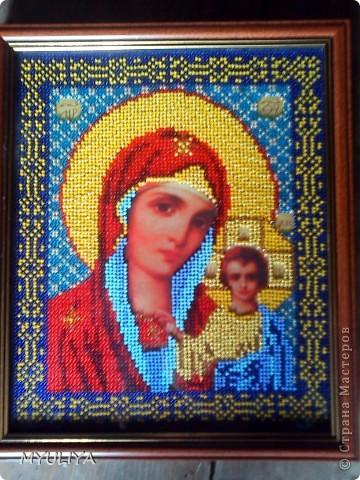 Икона Казанской Бижией Матери фото 1