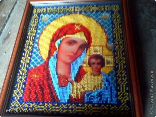 Икона Казанской Бижией Матери фото 2