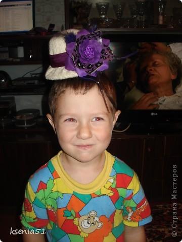 Шляпка шилась по МК Ликмы, за который большое спасибо!!! фото 3