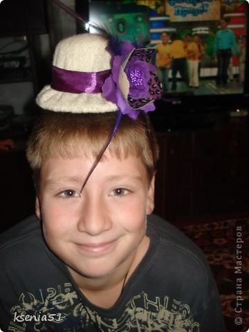 Шляпка шилась по МК Ликмы, за который большое спасибо!!! фото 4