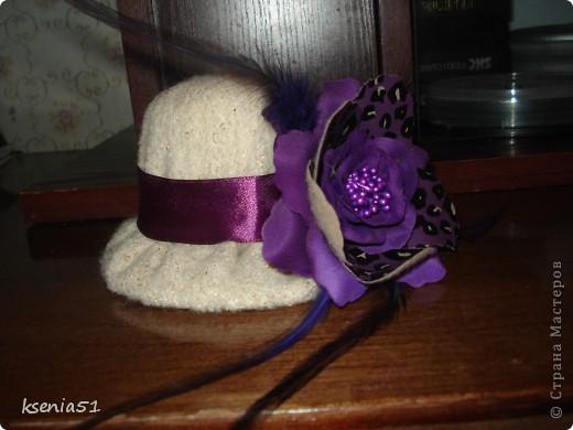 Шляпка шилась по МК Ликмы, за который большое спасибо!!! фото 2