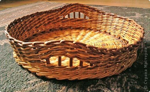 Привет!!! собрала последние плетеночки, первая - самая любимая) корзиночка под печеньки) фото 4