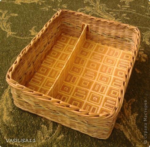 Привет!!! собрала последние плетеночки, первая - самая любимая) корзиночка под печеньки) фото 6