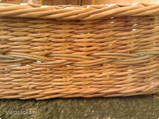 Привет!!! собрала последние плетеночки, первая - самая любимая) корзиночка под печеньки) фото 7