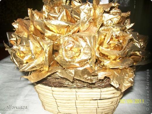 Ограбила банк, и из золота сделала розы!!!!!!! фото 1
