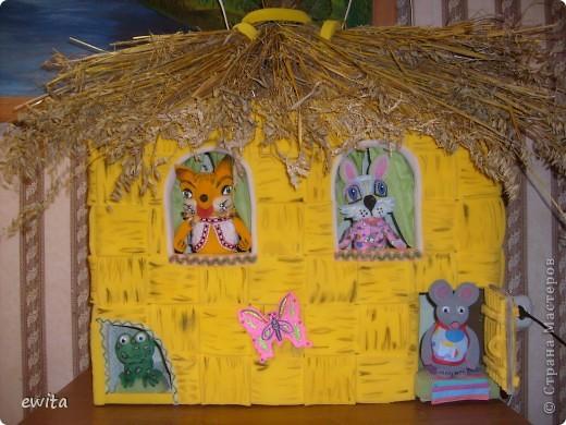 сказочный теремок -корзинка ,сделан для детского сада фото 1