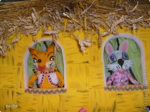 сказочный теремок -корзинка ,сделан для детского сада фото 2