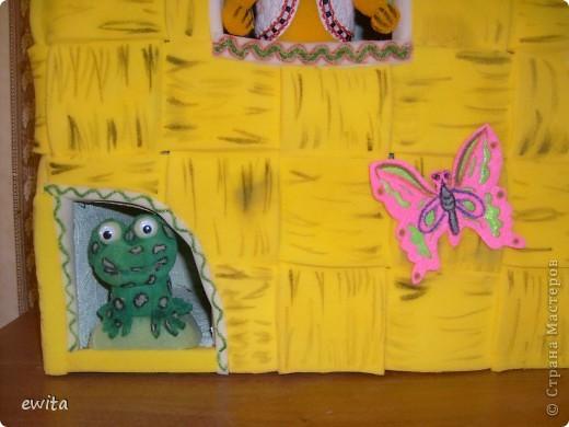 сказочный теремок -корзинка ,сделан для детского сада фото 3