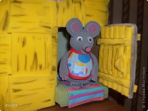 сказочный теремок -корзинка ,сделан для детского сада фото 4