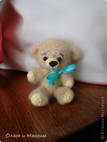 Вязаный медвед фото 2