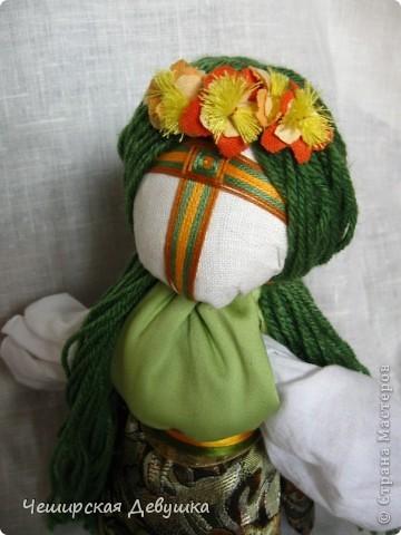 Мои первые куклы-мотанки. Мария фото 2