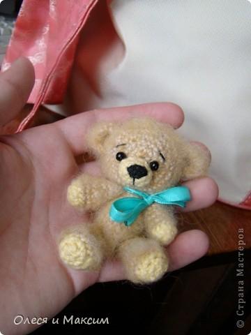 Вязаный медвед фото 1