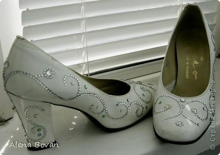 """туфли -""""сваровских"""" фото 1"""