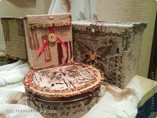 Коробки из под печенья,чайника и ещё чего-то.. фото 1
