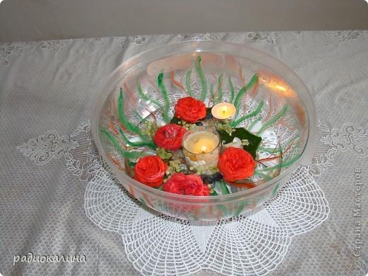 На день рождения подарили мне торт с крышкой - куполом и как всегда рука не поднялась выбросить на помойку. фото 1