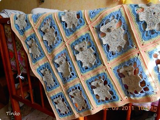 Вязание крючком одеяло и его схема