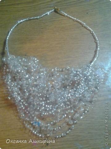 Бисероплетение ожерелье