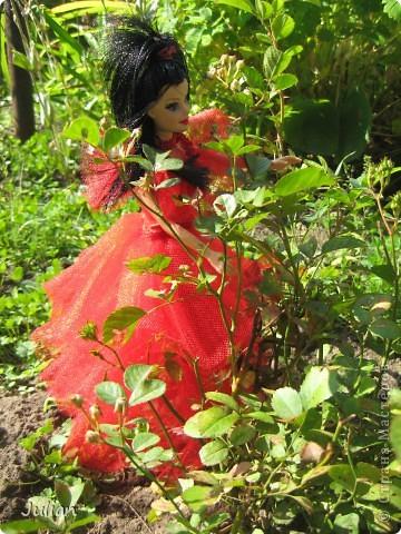 """Начнем с того что я очень люблю фильм """"Билджус"""" особенно мне нравиться Лидия, вот я и решила сшить красное свадебное платье в котором героиня предстала в финальных сценах) фото 5"""
