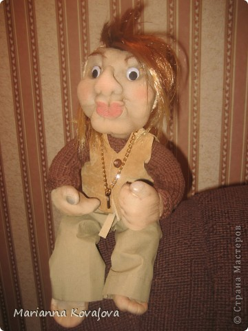 Домовёнок Гоша с ключиком фото 1