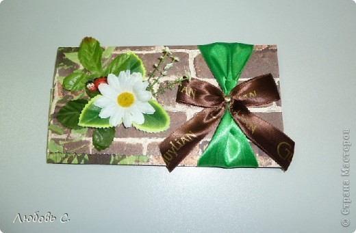 Еще один конверт на день рождения коллеге по работе. фото 1