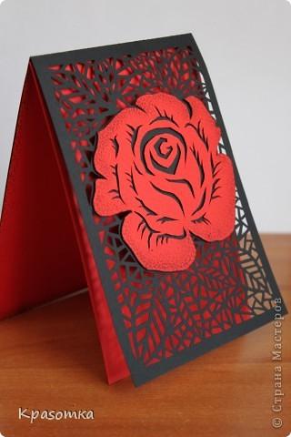 Сделала открытку по МК Зульфии Дадашовой (http://stranamasterov.ru/node/205782?c=favorite) фото 2