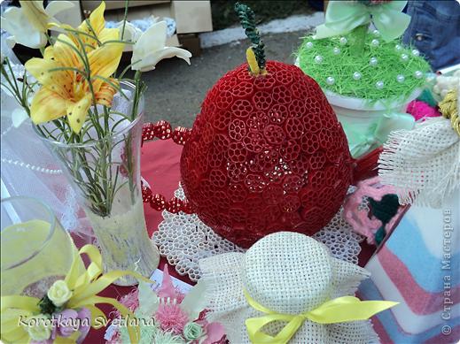 Доброго времени суток, мастера и мастерицы страны мастеров!В нашей станице Тбилисской Краснодарского края большое событие- мы отмечали сразу два праздника День Рождение станицы и день урожая. Было много праздничных мероприятий и среди них выставка народных умельцев. фото 25