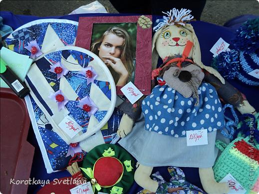 Доброго времени суток, мастера и мастерицы страны мастеров!В нашей станице Тбилисской Краснодарского края большое событие- мы отмечали сразу два праздника День Рождение станицы и день урожая. Было много праздничных мероприятий и среди них выставка народных умельцев. фото 28
