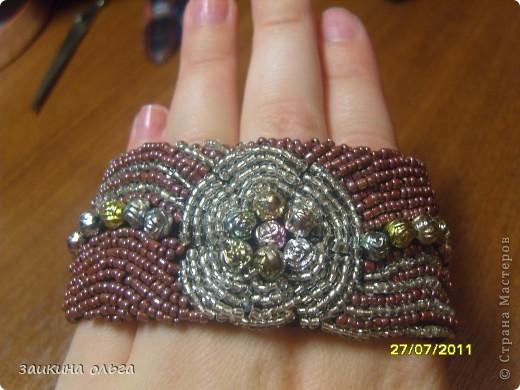 вышитые браслеты фото 8