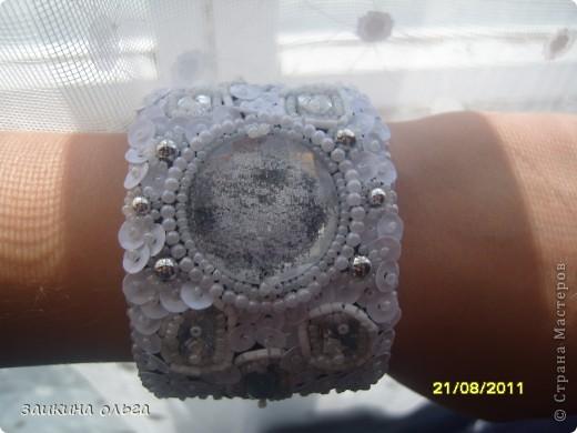 вышитые браслеты фото 13