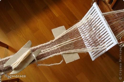 """На фестивале """"Времена и Эпохи"""" http://stranamasterov.ru/node/235192  я увидела как ткут пояса на бёрде или бёрдышке. Очень захотелось попробовать... но где взять бёрдо? фото 16"""