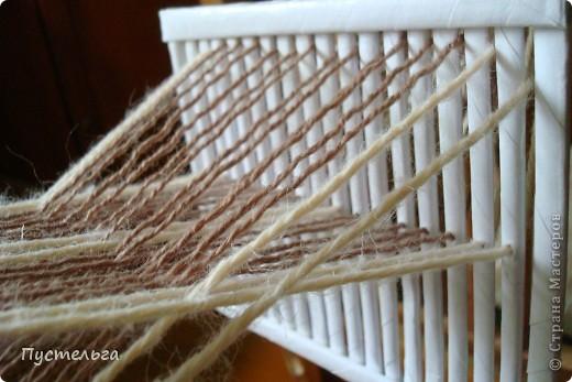 """На фестивале """"Времена и Эпохи"""" http://stranamasterov.ru/node/235192  я увидела как ткут пояса на бёрде или бёрдышке. Очень захотелось попробовать... но где взять бёрдо? фото 17"""