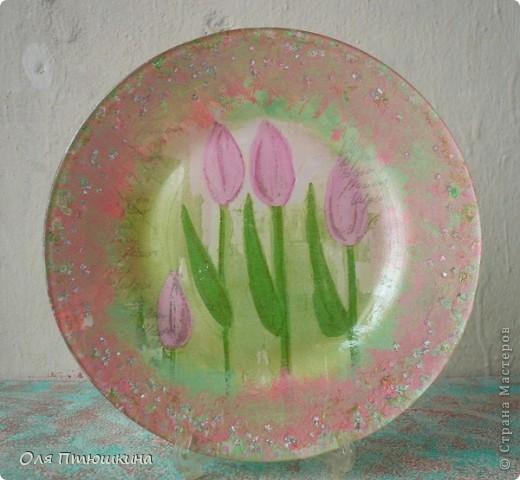 """Здраствуйте,уважаемые рукодельницы! Идею создания вазы подсмотрела на сайте """"Ярмарка мастеров"""", но там она золотая,а у меня-как всегда розовая. фото 7"""