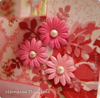 Здравствуйте жители СМ. Предлагаю вашему вниманию ещё одну Свадебную открытку, форму подсмотрела у Аскины http://stranamasterov.ru/node/159804?c=favorite.  фото 8